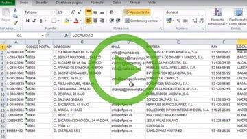 Importación a OfiPro desde Excel