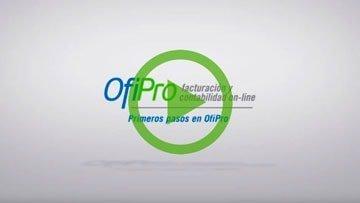 Primeros pasos en OfiPro