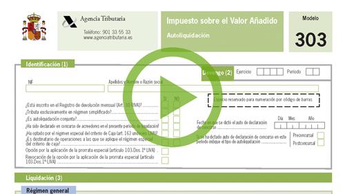 Software de contabilidad. Presentación del Modelo 303
