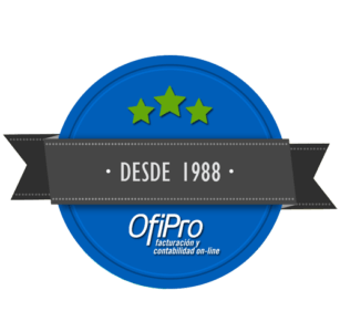 Sello de Garantía OfiPro programa de facturación y contabilidad online