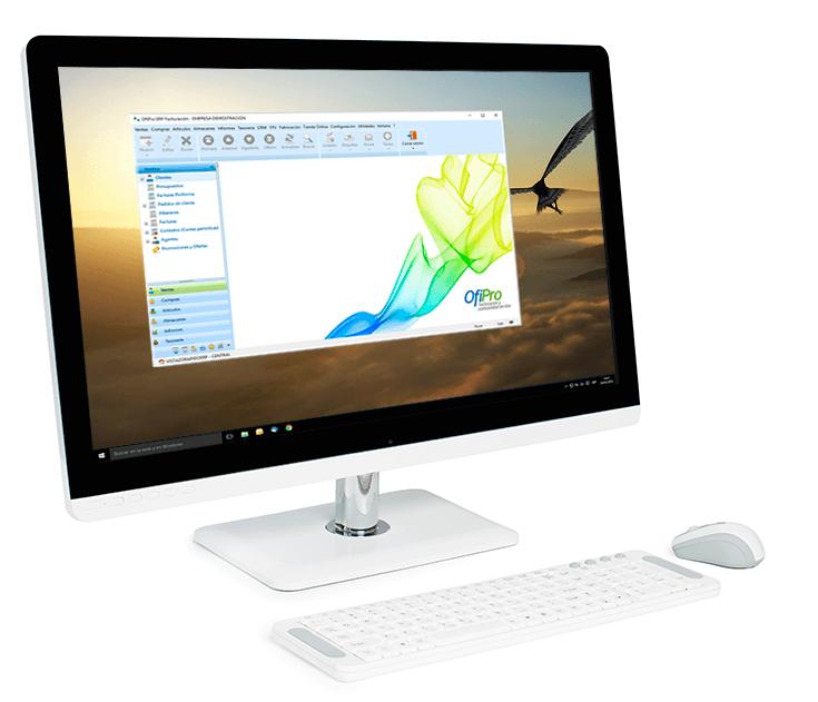Programa de facturación y contabilidad sobre Windows. OfiPro